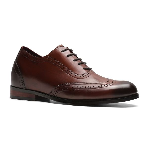 Downtown Wingtip Oxford - Chestnut Brown