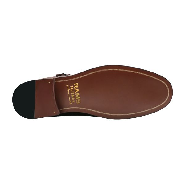 Double Date Monk Shoes - Dark Cocoa Brown