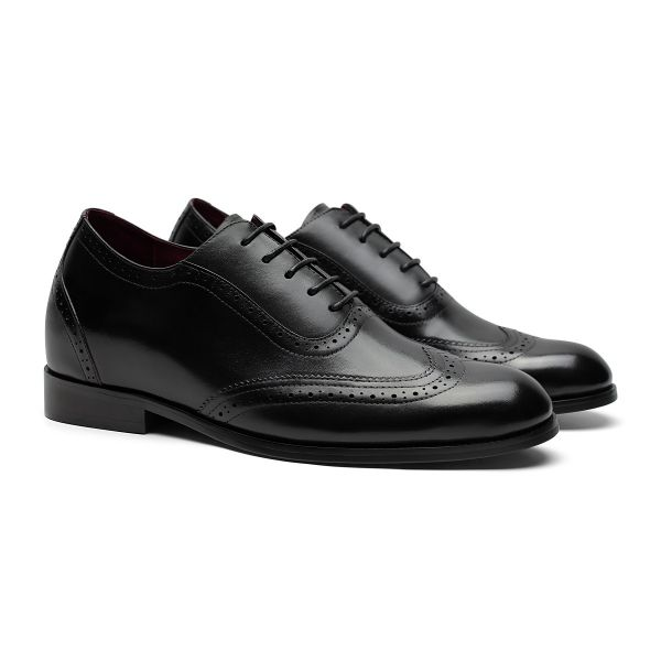 Downtown Wingtip Oxford - Caviar Black