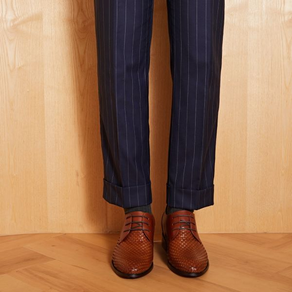 Two-Faced Derby - Chestnut Brown