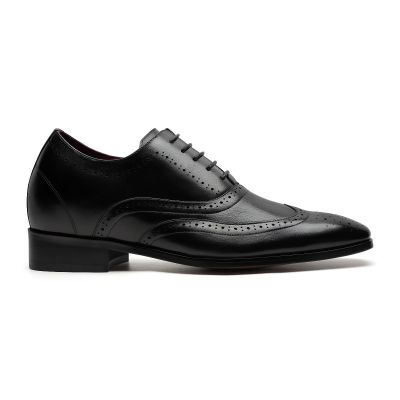 Daddy's Wingtip Oxford - Caviar Black