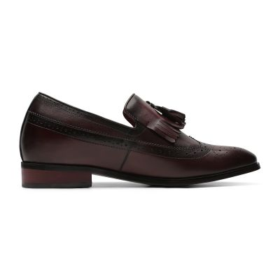 Day and Night Tassel Loafers - Chestnut Brown