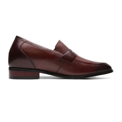 Smooth-sailing Penny Loafers - Mahogany Brown