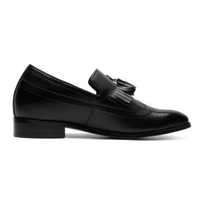 Day and Night Tassel Loafers - Caviar Black